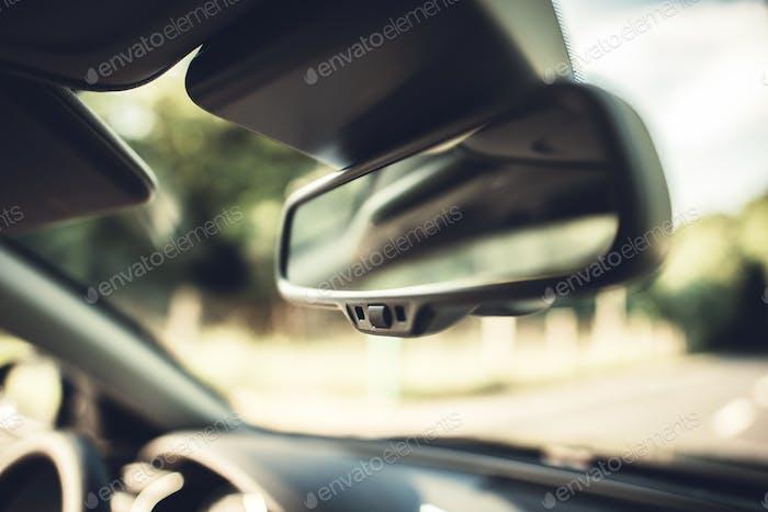 Rétroviseur intérieur du véhicule