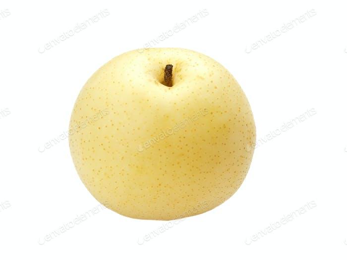 Asian pear macro view