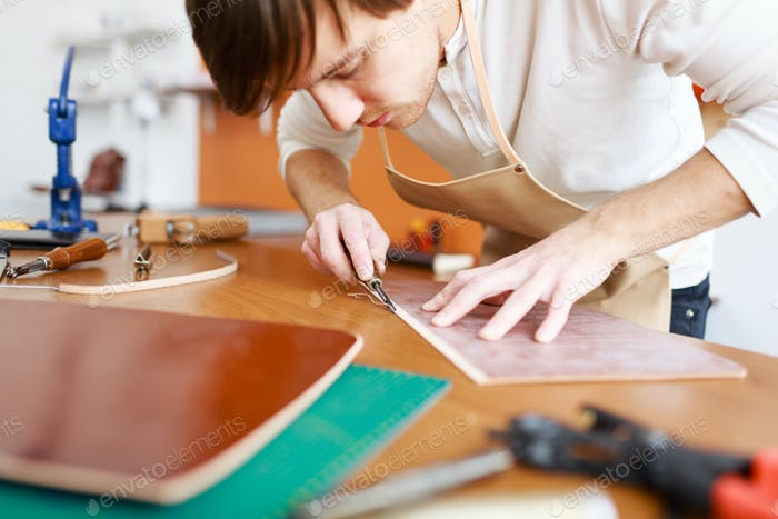Leather artisan