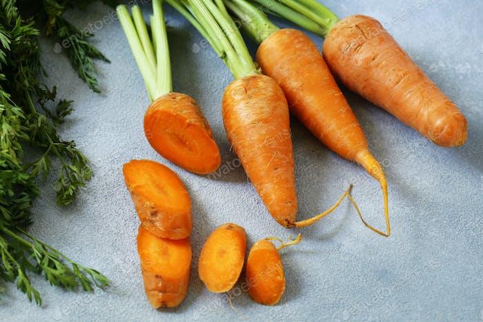 Natural Organic Carrots