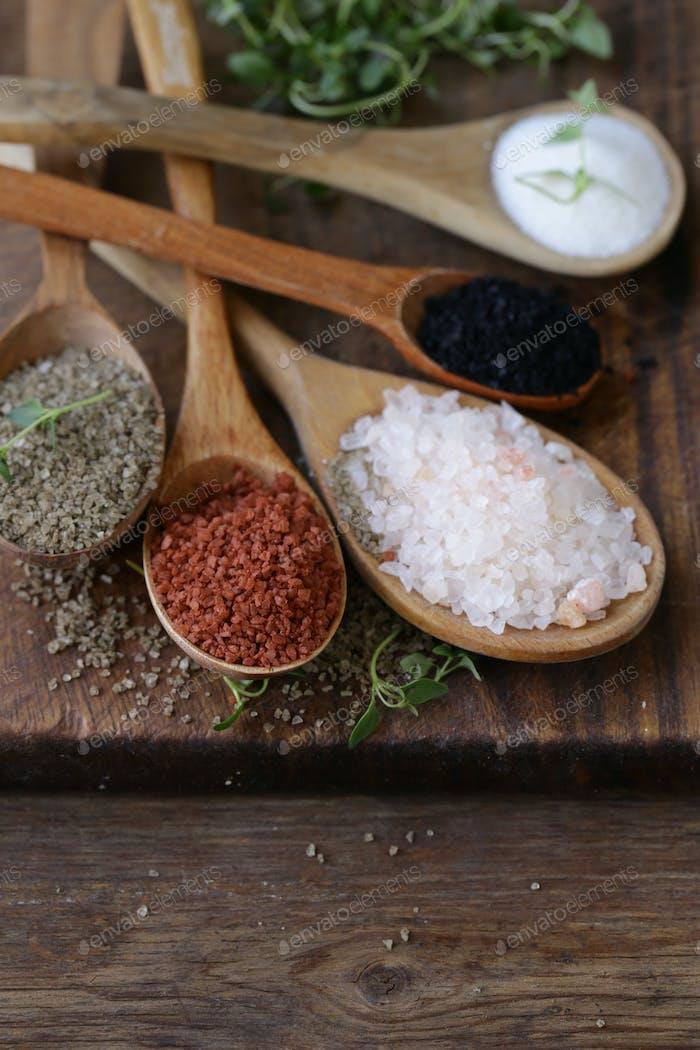 Different Varieties of Salt