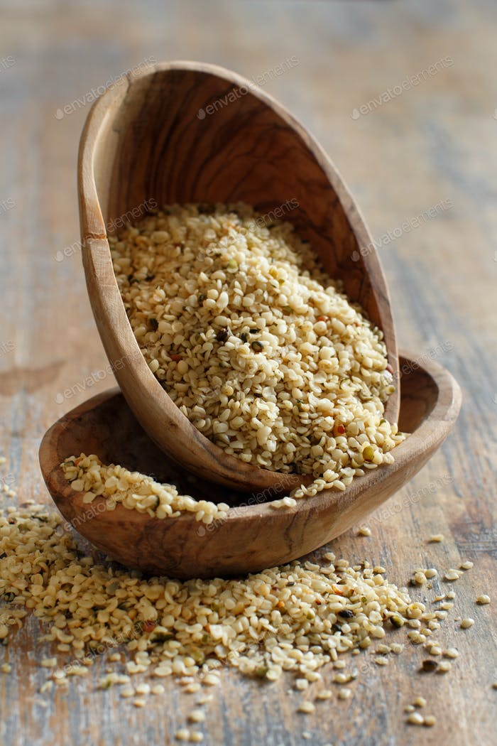Raw Hemp seeds