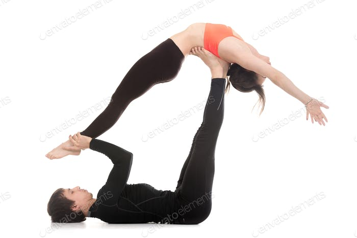 Acroyoga, high Flying Whale