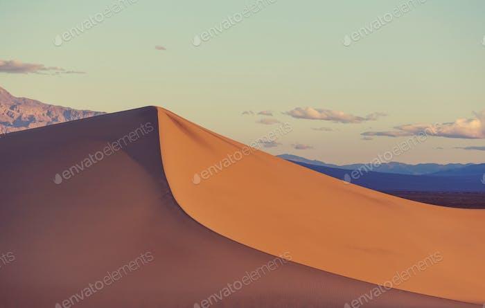Sanddünen in Kalifornien