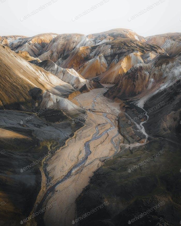 Isländischer Vulkan