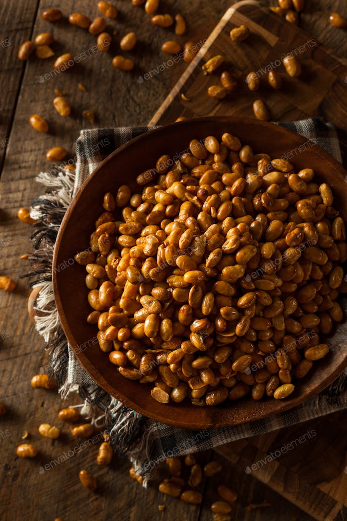 Homemade Salted Soy Nuts