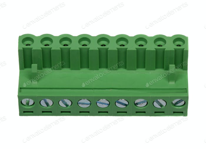 Green electrical connector