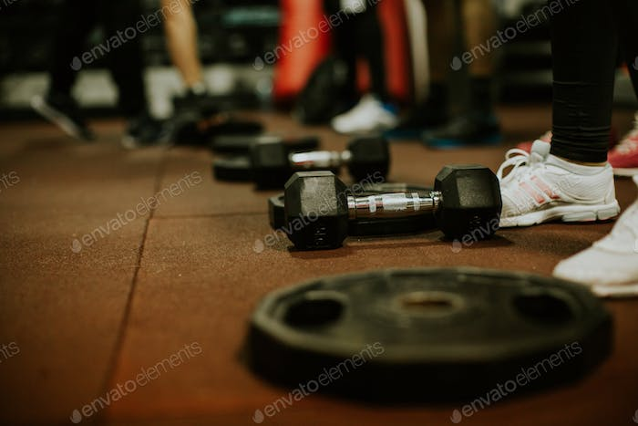 Cross fitness training workout equipment training