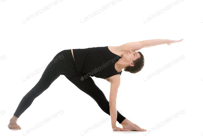Extended Triangle Pose variation
