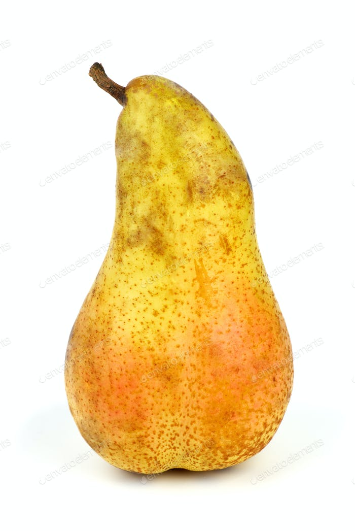 Long yellow pear