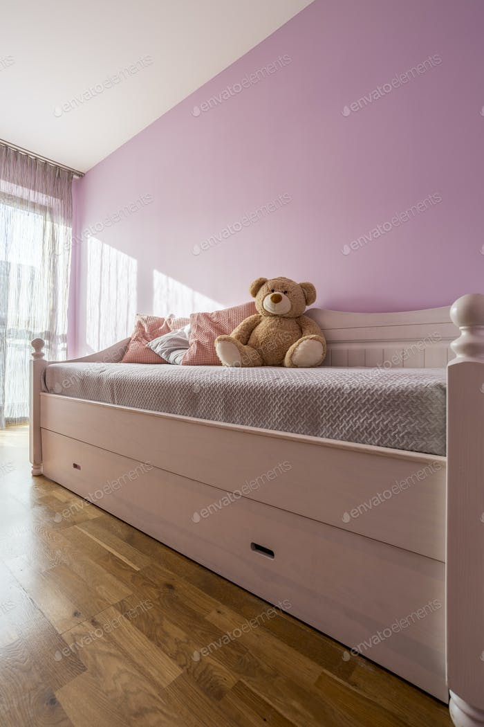 Lavender bedroom for girl