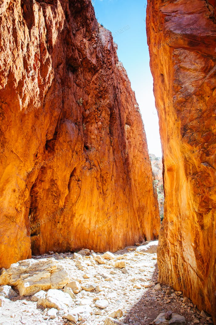 The iconic Standley Chasm Australia