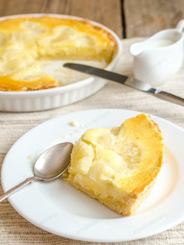 Pineapple cheesecake
