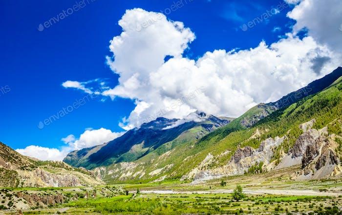 Beautiful Asian landscape