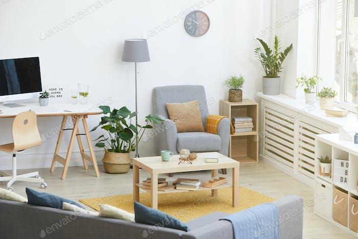 Domestic modern room