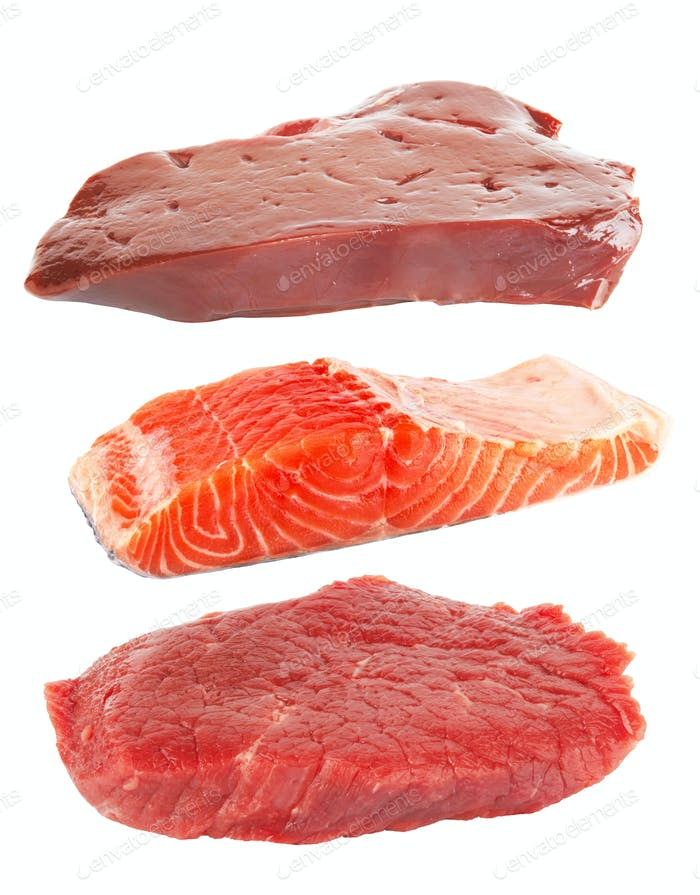 meat and fish