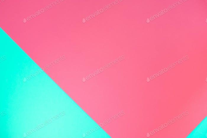 Pastel color paper geometric background