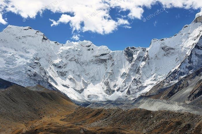 Blick auf den Chukhung Gletscher und Ama Dablan