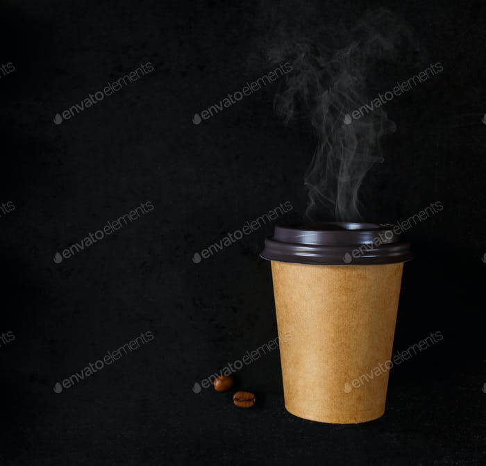 Papptasse Kaffee