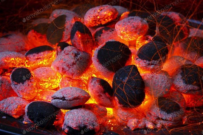Glowing Coal