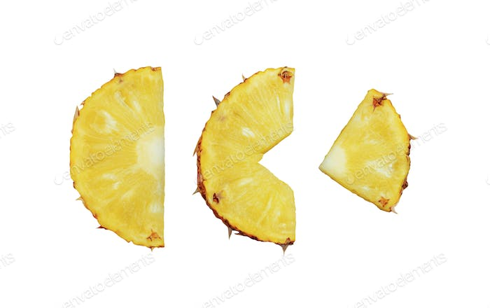 Pineapple of pieces