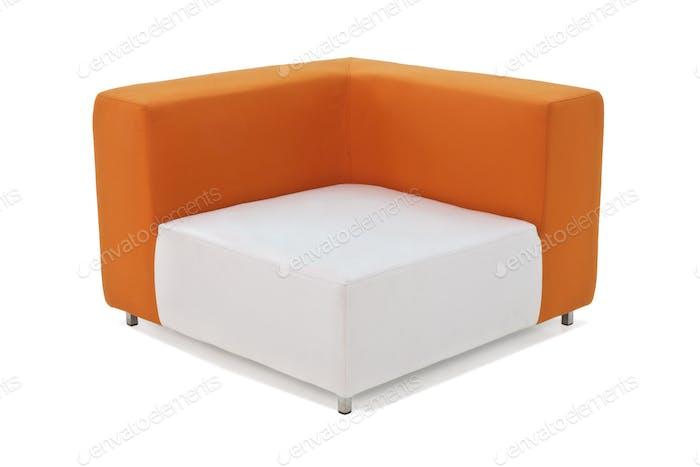 Outdoor Indoor Sofa Orange Color