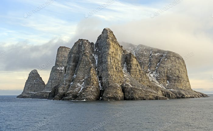 Dramatic Island in the High Arctic