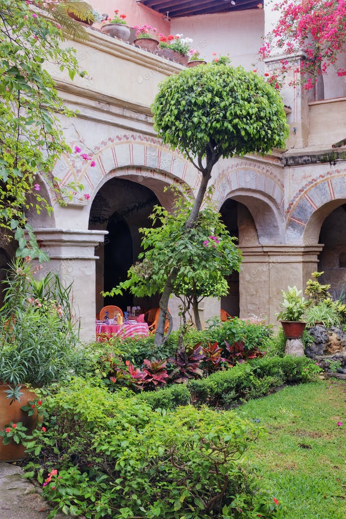 Old World Courtyard