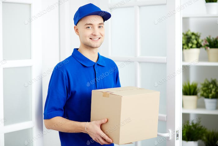 Delivery service worker