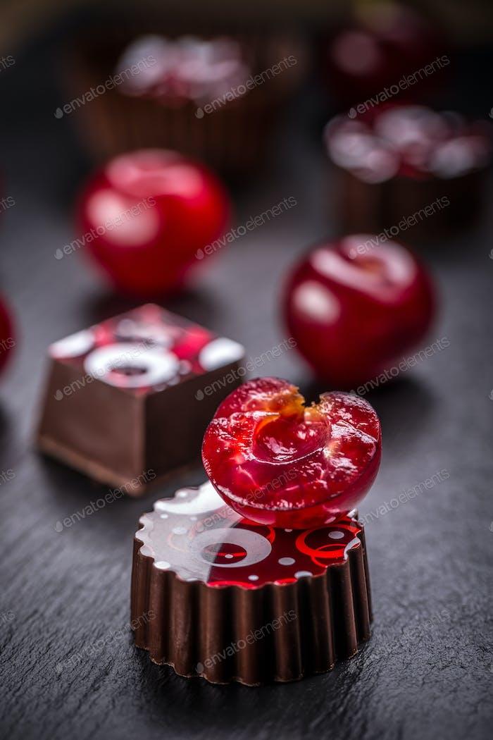 Cherry truffle