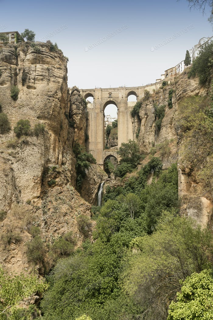 Ronda (Andalucia, Spain): the bridge