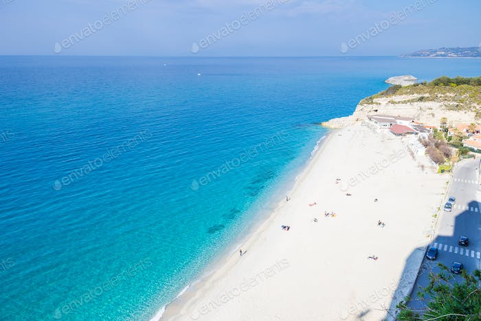 Tropea City in Kalabrien