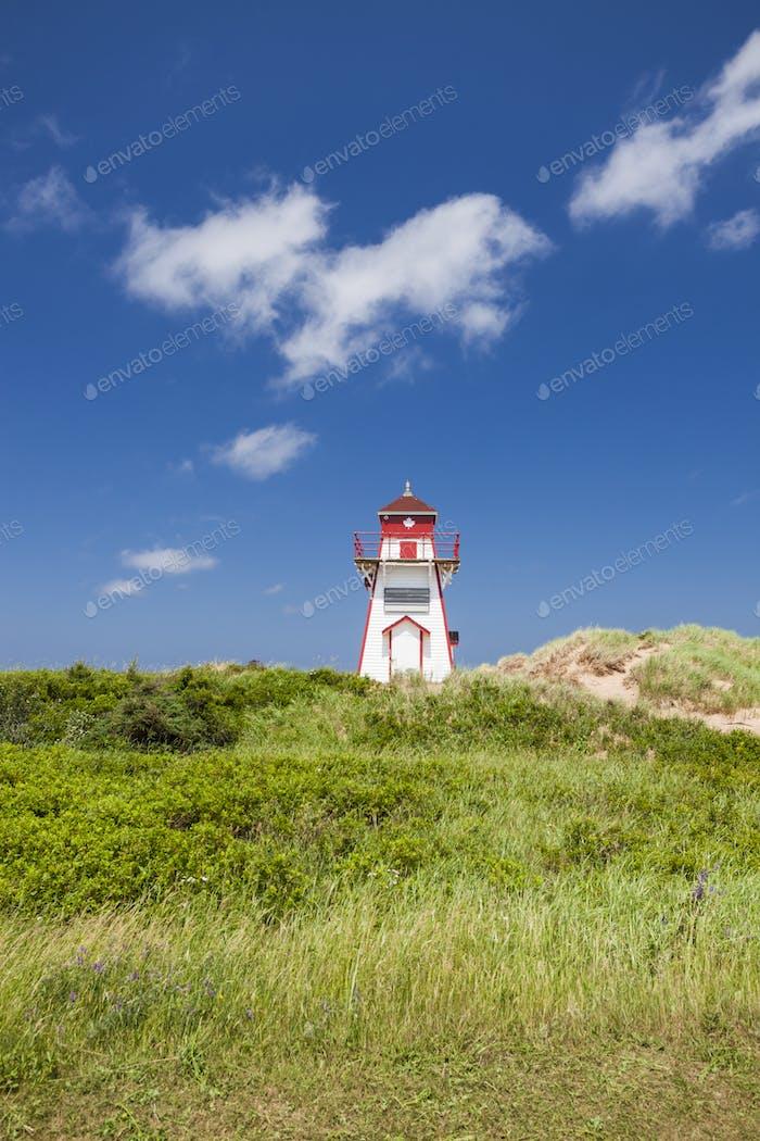 Covehead Harbour Lighthouse on Prince Edward Island