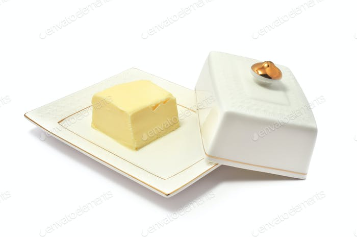 Isolated butter