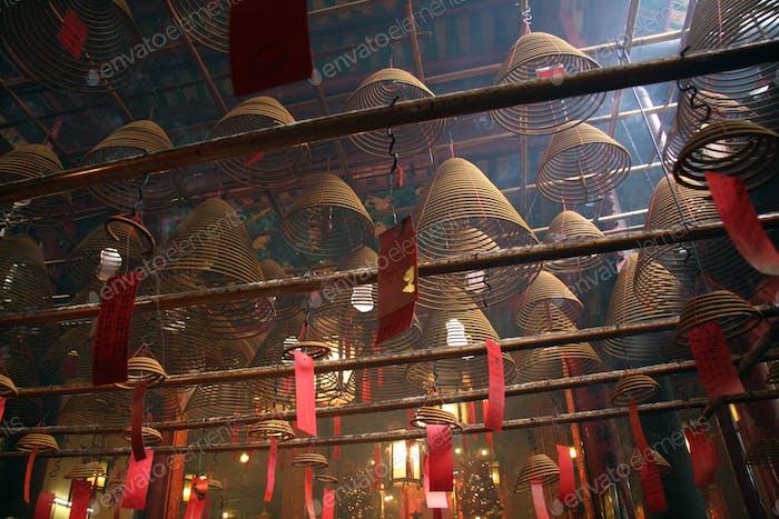 Man Mo Temple, Hong Kong