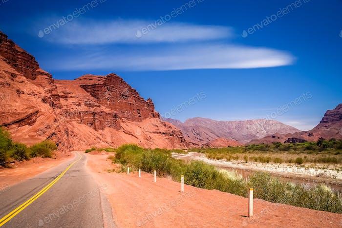 Mountain Road nach Cafayate