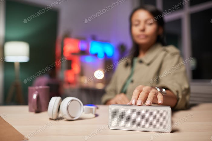 Audio gadget for music