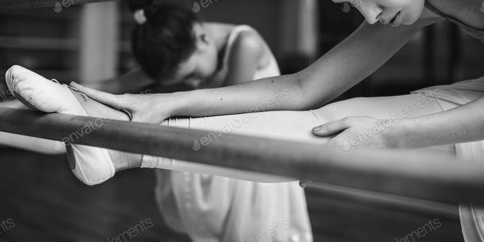 Concepto de Escuela de Entrenamiento de Bailarinas de Ballet