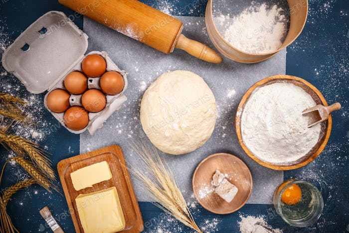 Ingredients of bakery products