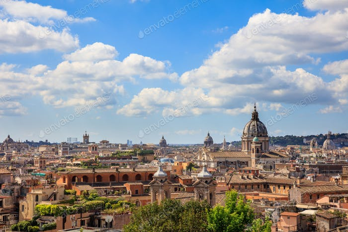 Rome, Italy - Aerial view
