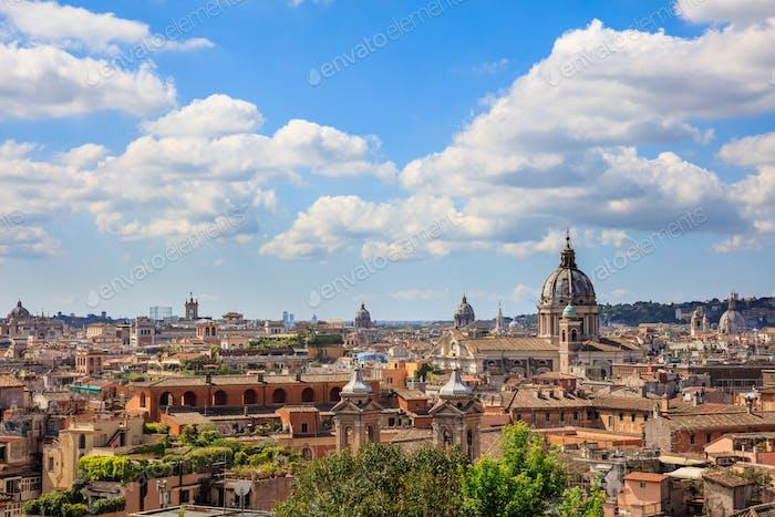 Rom, Italien - Luftbild