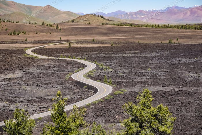 The Loop Road, Craters of the moon National park, Idaho