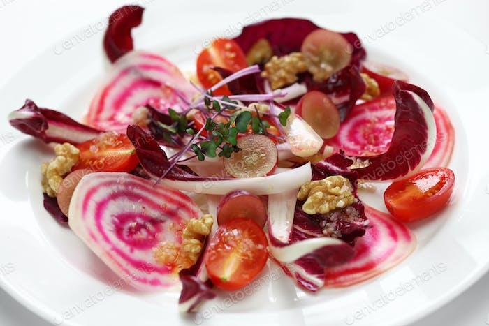 italian purple red salad