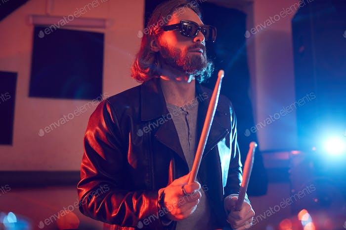 Rocking Drummer