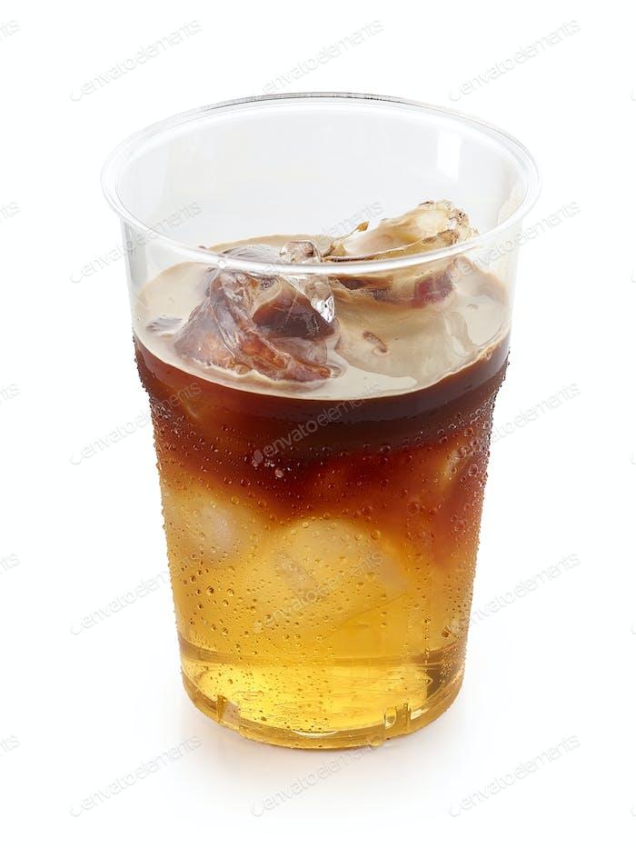 Glas Eisgetränk