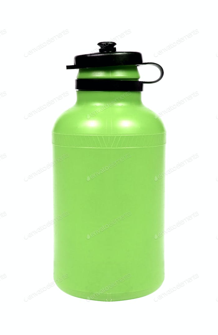 Bottle of water isolated