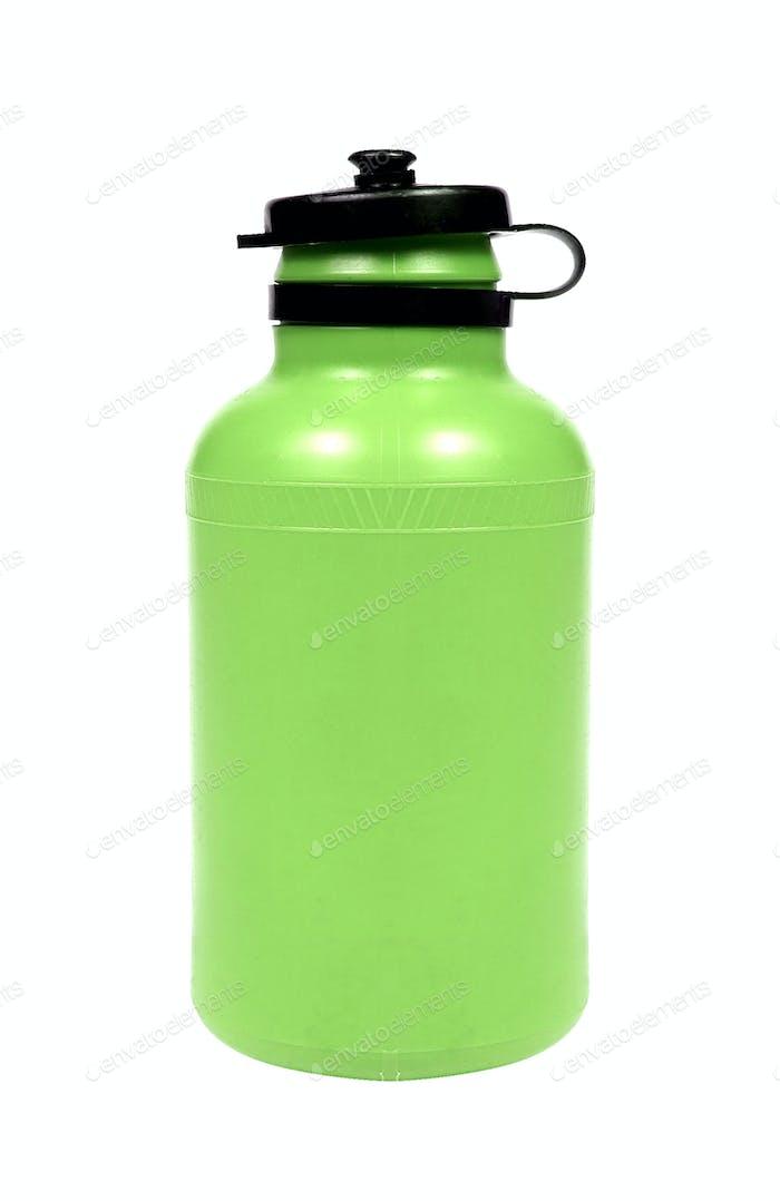 Flasche Wasser isoliert
