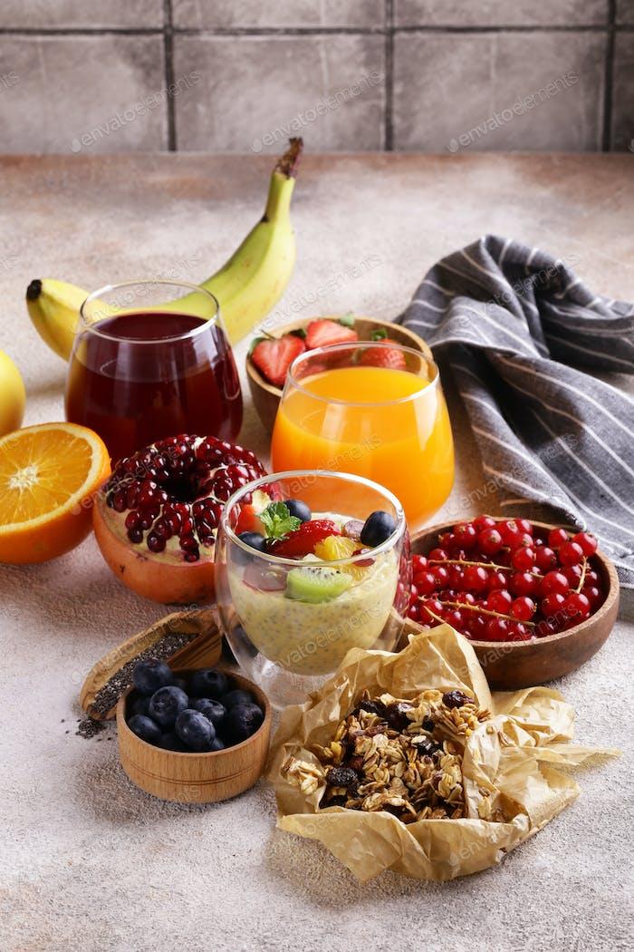 Set Healthy Breakfast