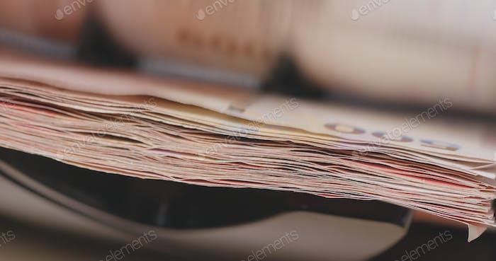 Contador de efectivo