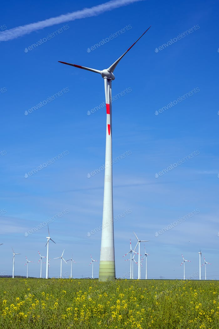 Modern wind power turbines